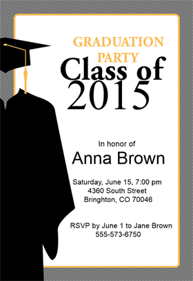 Class Of Graduation Party Invitation Template (Free