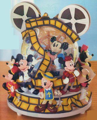 Mickey Through the Years Snow Globe. I need this for my Mickey collection.