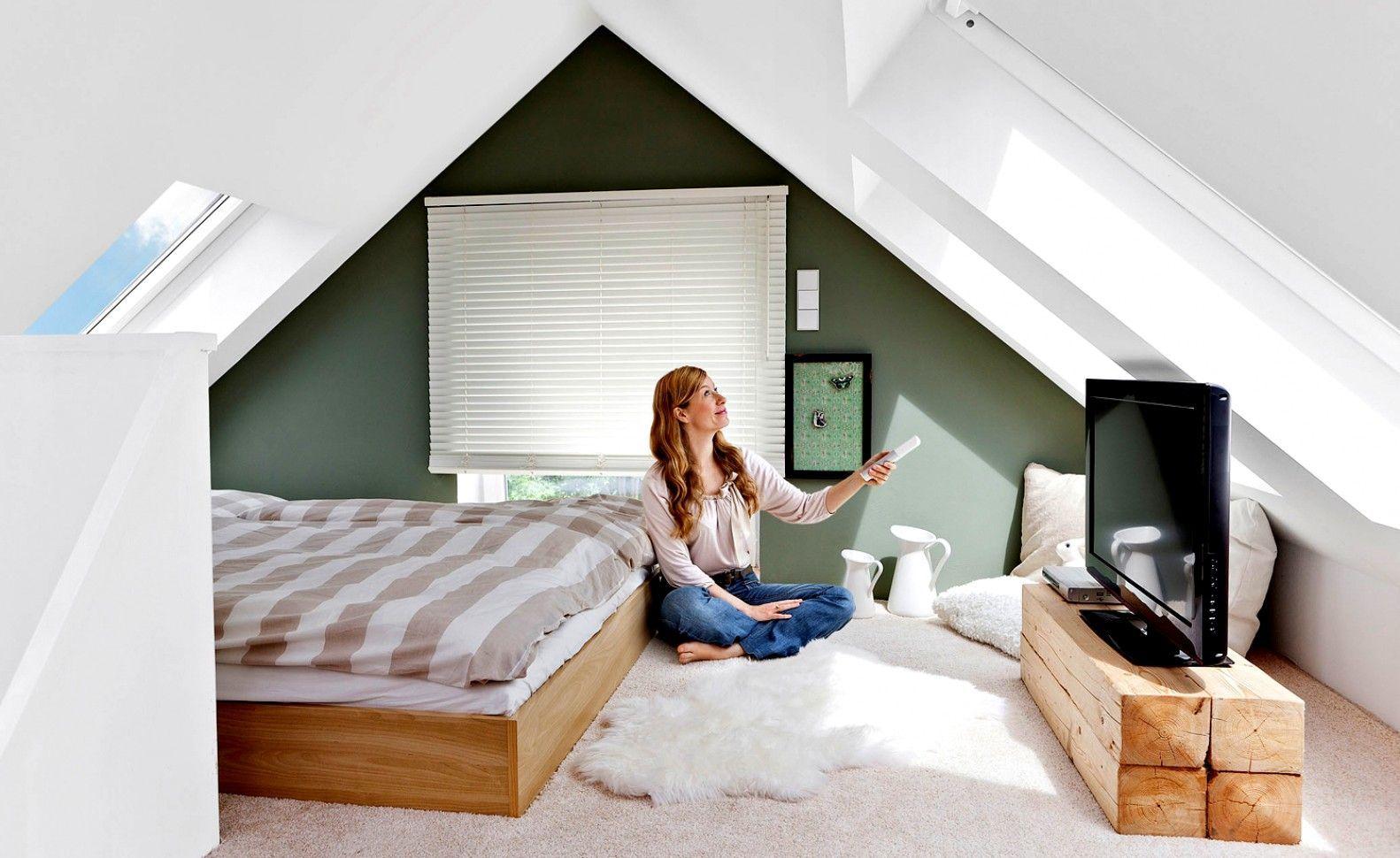 Kleines Schlafzimmer Mit Schräge   Best Home Decor