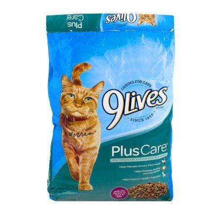 9Lives Cat Food Plus Care Tuna Egg 120 LB