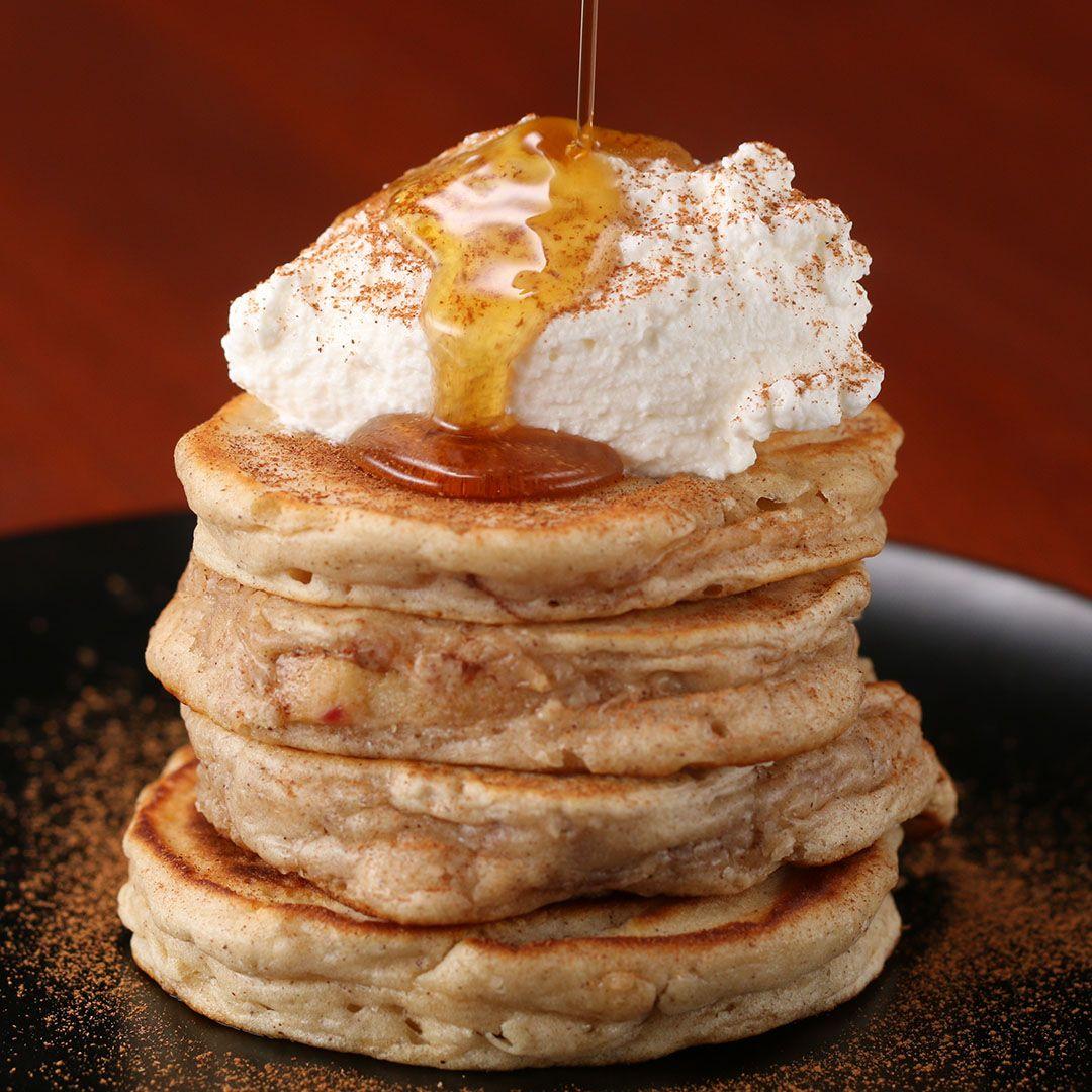 apple ring pancakes pinterest pancakes selber machen. Black Bedroom Furniture Sets. Home Design Ideas