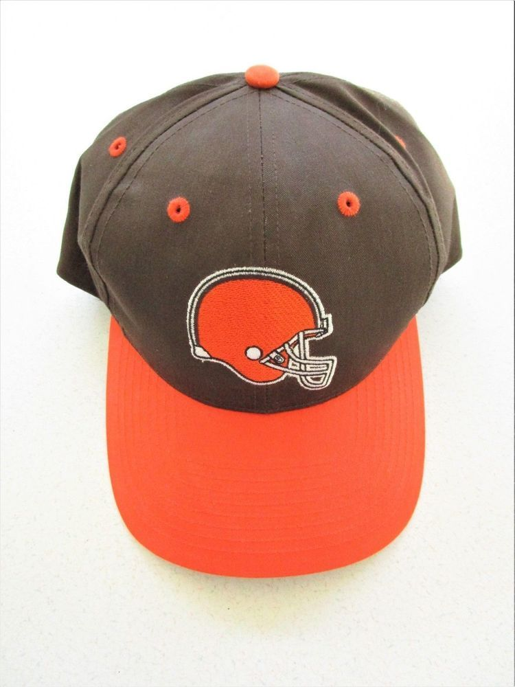 NFL Cleveland Browns Helmet Logo Baseball Cap Hat Adjustable w tags New  Official  Twins 10ddceb92f1