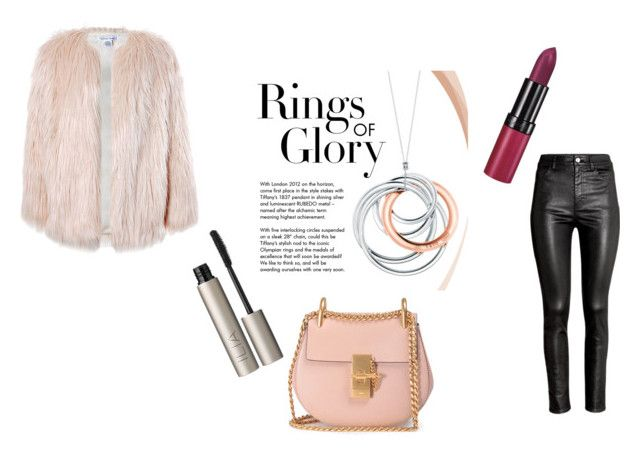 """""""P!NK"""" by fabqueen2004 ❤ liked on Polyvore featuring Tiffany & Co., Ilia, Rimmel, Sans Souci, H&M, Chloé and love"""