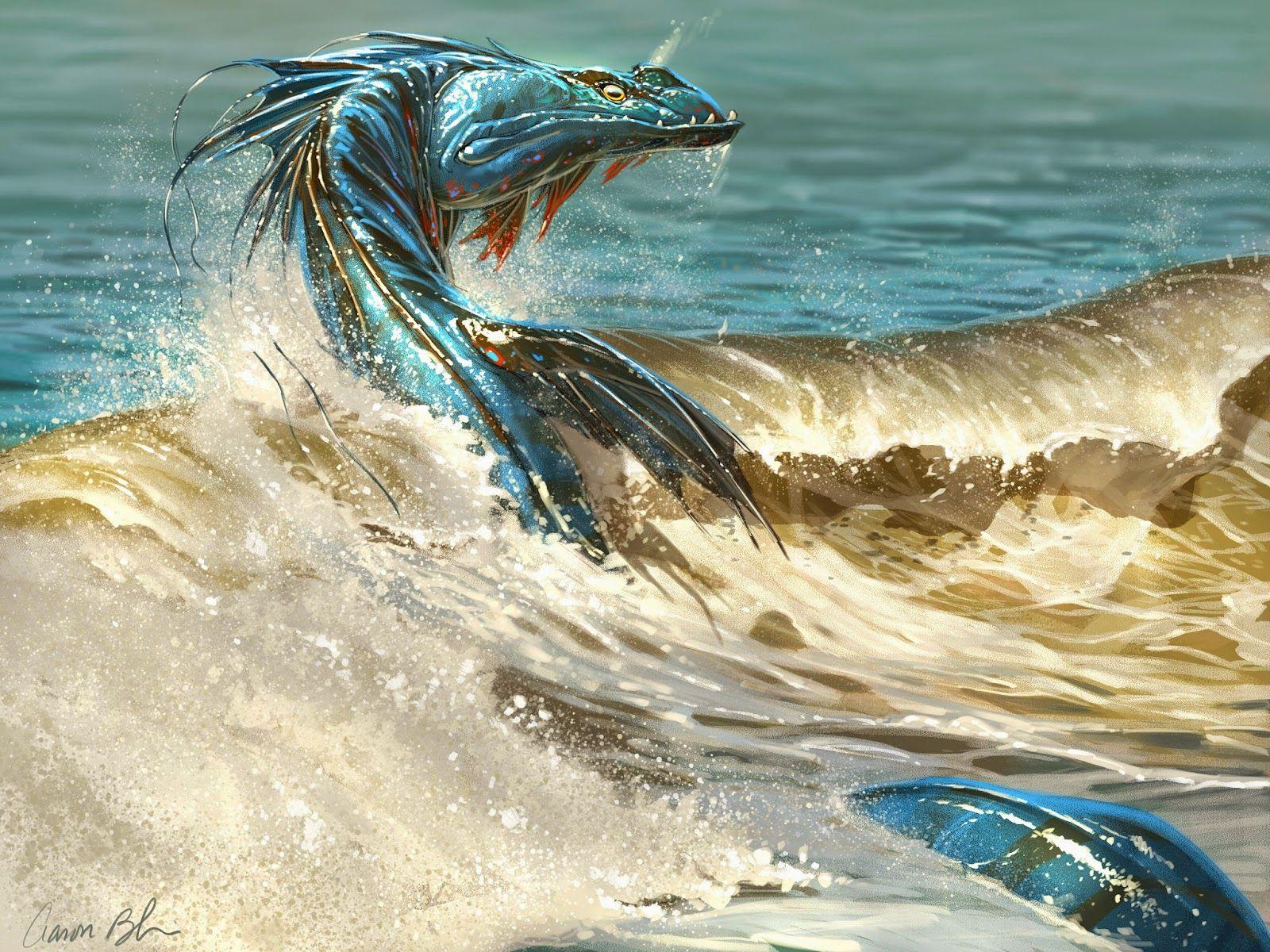 картинки морской змей посуда логотипом