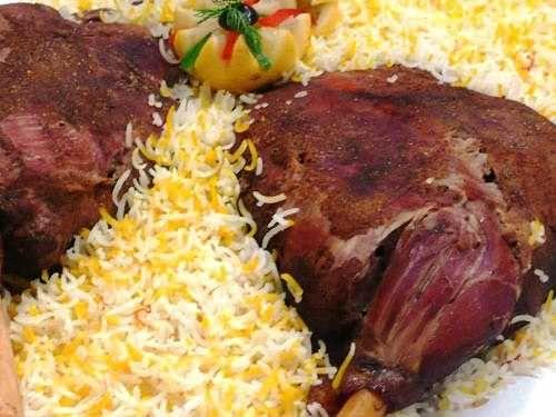 مطبخ أبدعي فخد الخروف المحشي Iraqi Cuisine Food Recipes
