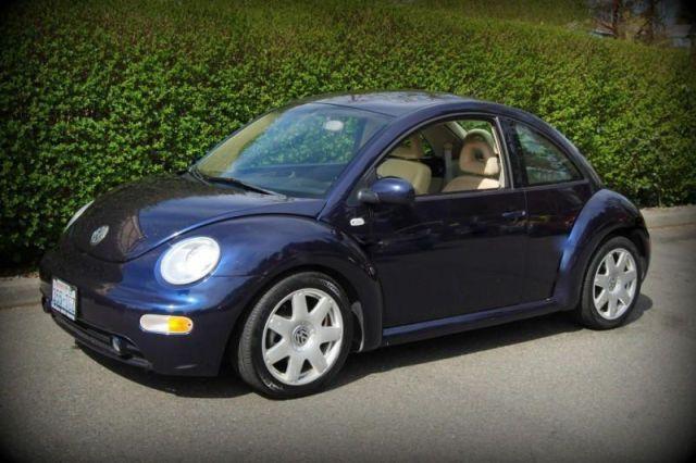 2002 Volkswagen New Beetle, 93,174 miles, $8,988.