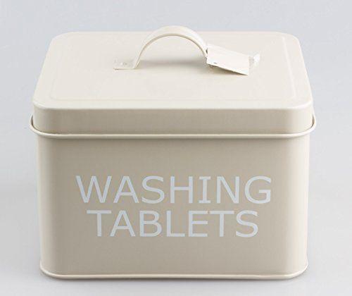 Vintage Retro Style Washing Tablets Tin Storage Box Leonardo https://www.amazon.co.uk/dp/B00JR2ZKRU/ref=cm_sw_r_pi_dp_x_nGhrybN758ZYV