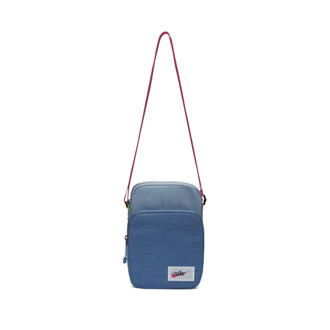 16e81fd21 Nike Sportswear Heritage Small-Item Label Bag Size ONE SIZE (Indigo Fog)