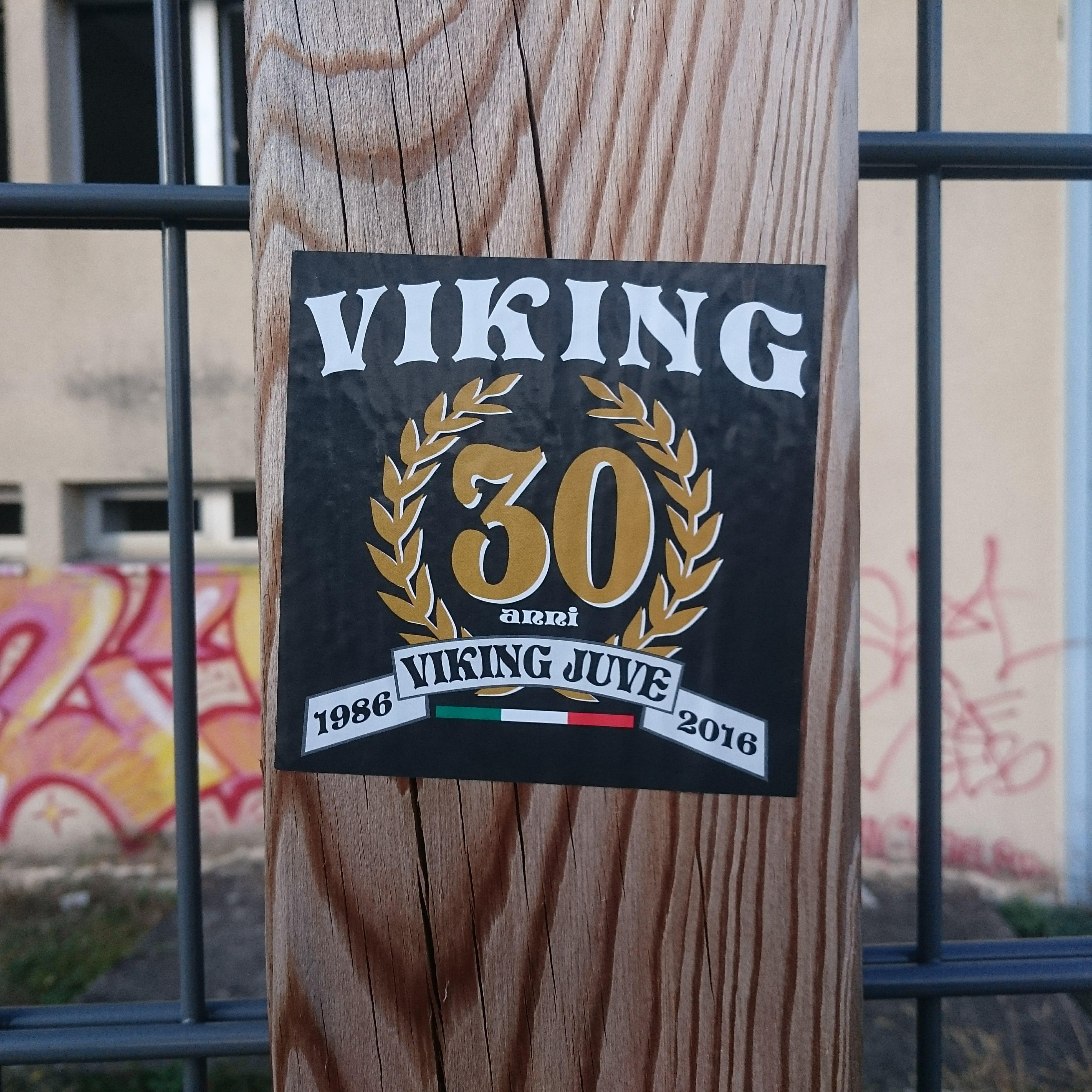 VIKING JUVENTUS. 30 anni.