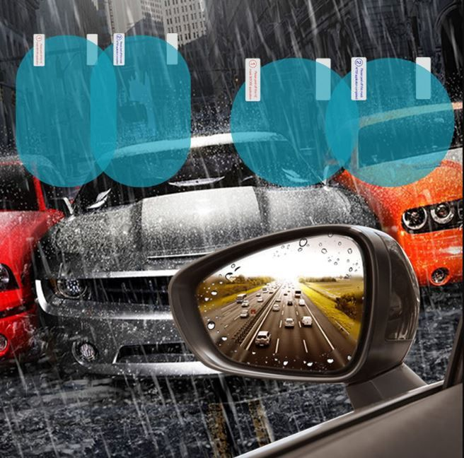 Car Rainproof Anti-fog Protective Film Rearview Mirror