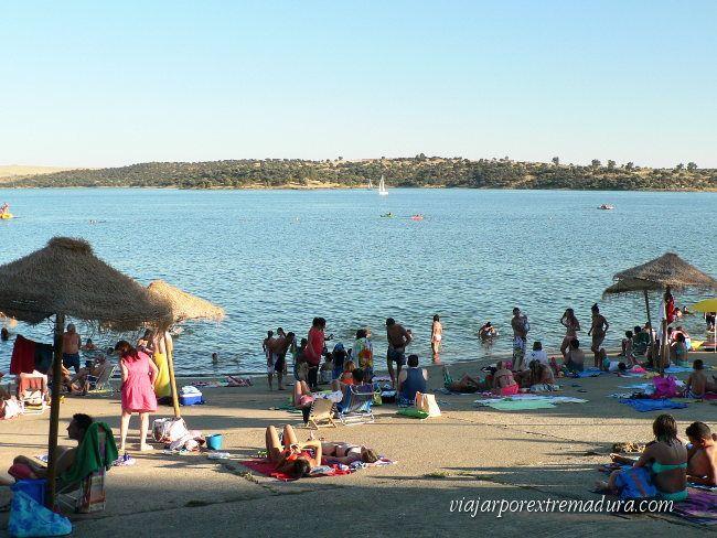 Playa de orellana badajoz extremadura lugares para visitar pinterest badajoz piscinas - Piscinas naturales badajoz ...