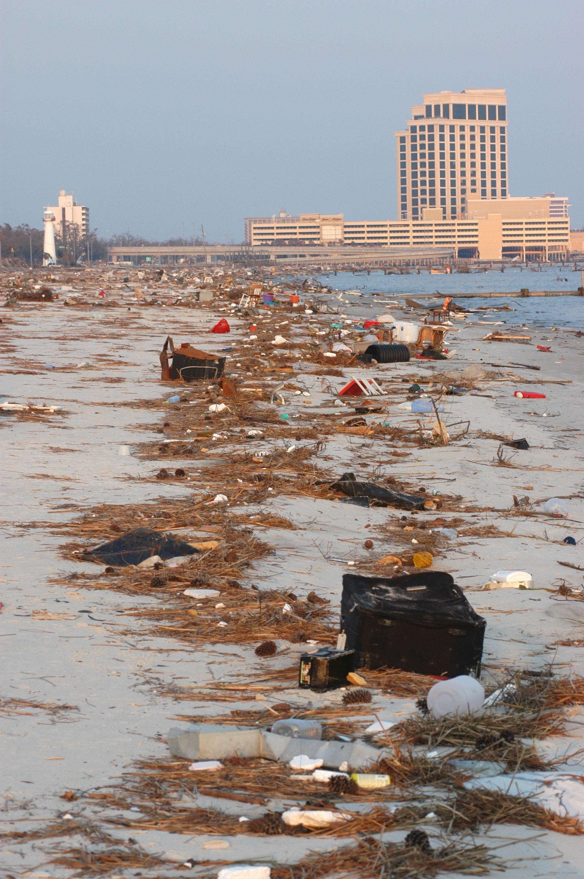 Beaches Of India Storm Surge Biloxi Beach Mississippi Biloxi