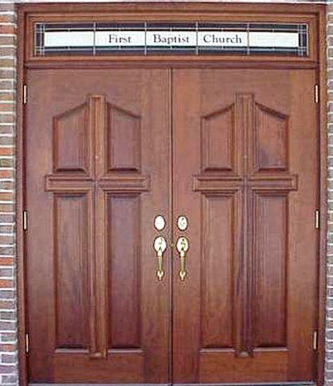 Mahogany Church Double Doors Dbyd 7019 Church Doors Pinterest