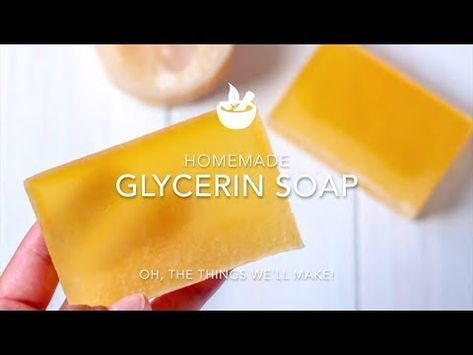 Homemade Glycerin Soap Recipe (From Scratch) - Oh, The