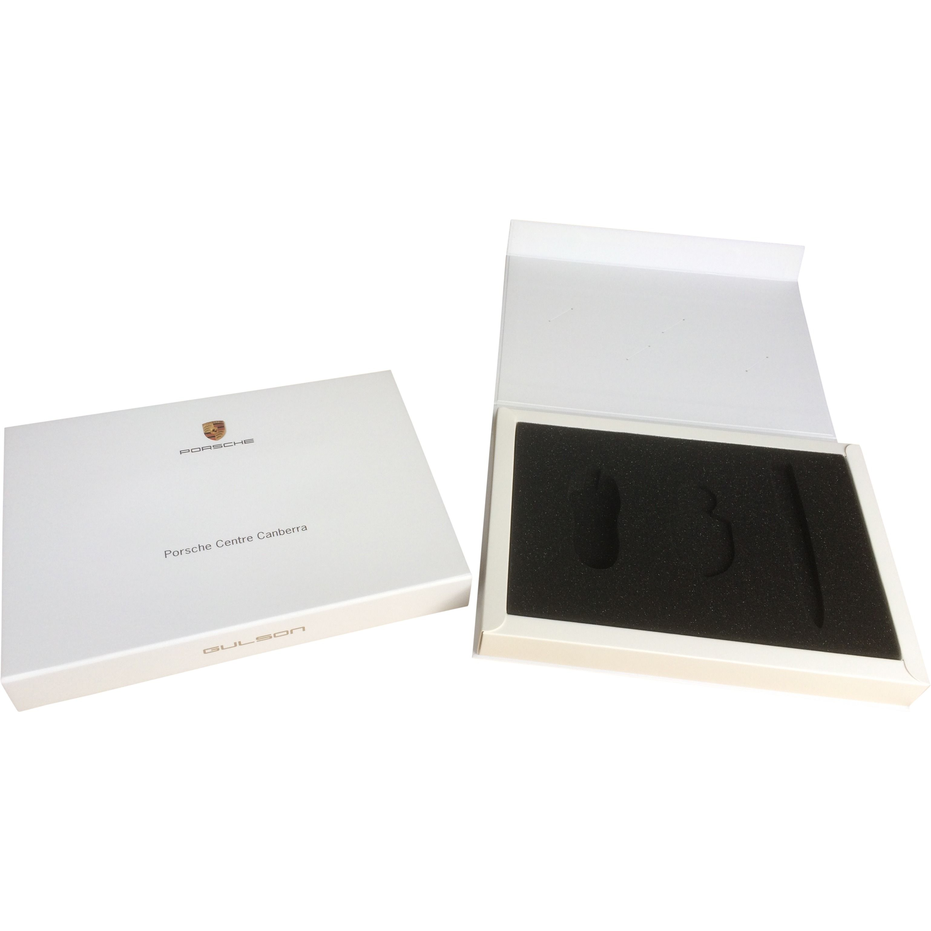 Presentation Gift Box For Luxury Brand With Die Cut Foam Insert