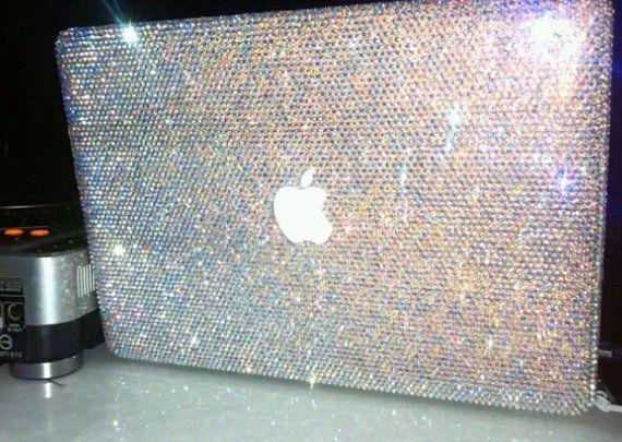 Promotion pro 15 retina Macbook Case Rhinestone sale CRYSTAL