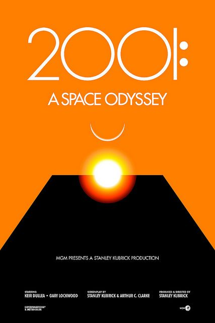 2001 A Space Odyssey by Change the thought