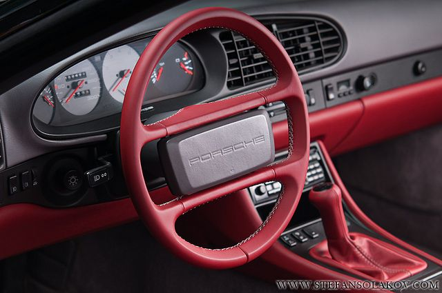 Porsche Red Leather Interior Porsche 944 Porsche Leather Interior