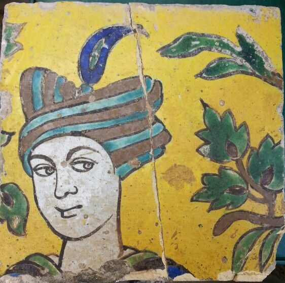 persian tile.   Ceramic and Pottery Wall Tiles   Pinterest   Persian ...