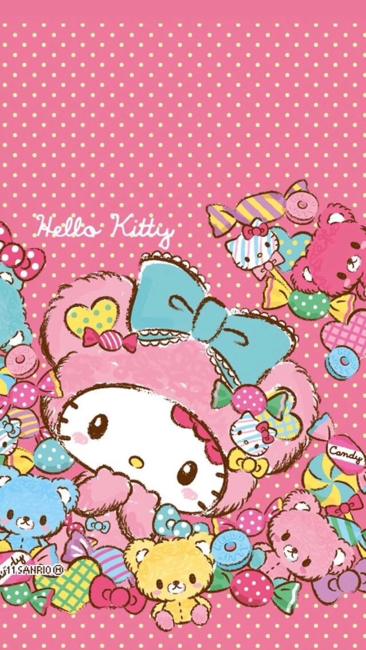 Cute Hello Kitty X3