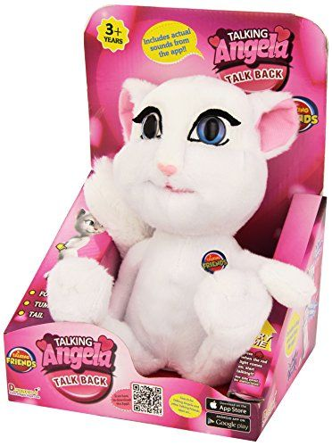 Talking Angela Talk Back Animation Repeats What You Say Just Like The Popular App Soft And Perfect Plush Toy F Barbie Toys Mickey Mouse And Friends Toys