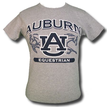 Auburn Equestrian T Shirt Available For Men Ladies And