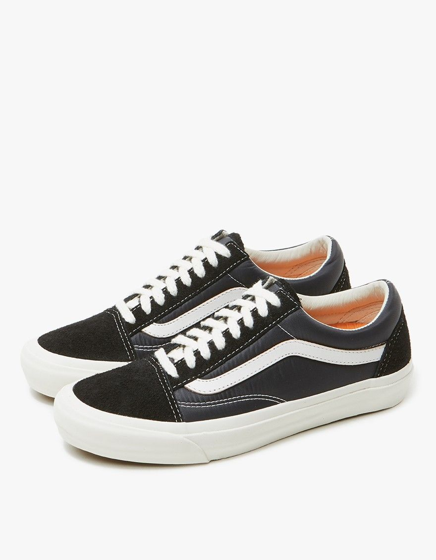 7ebad921 From Vault by Vans in collaboration with Our Legacy, an Old Skool Pro 92' LX  in Black. Lace-up front with flat woven laces. Padded collar with branded  Our ...