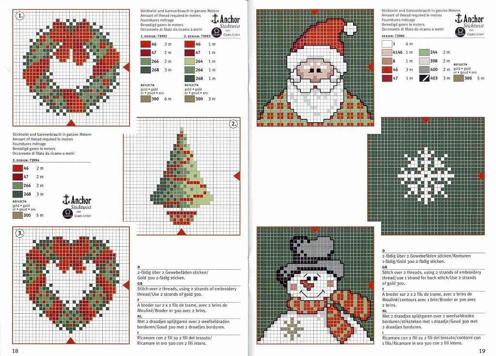 Solo Patrones Punto Cruz Aprender Manualidades Es Facilisimo Com Christmas Cross Stitch Cross Stitch Patterns Christmas Winter Cross Stitch