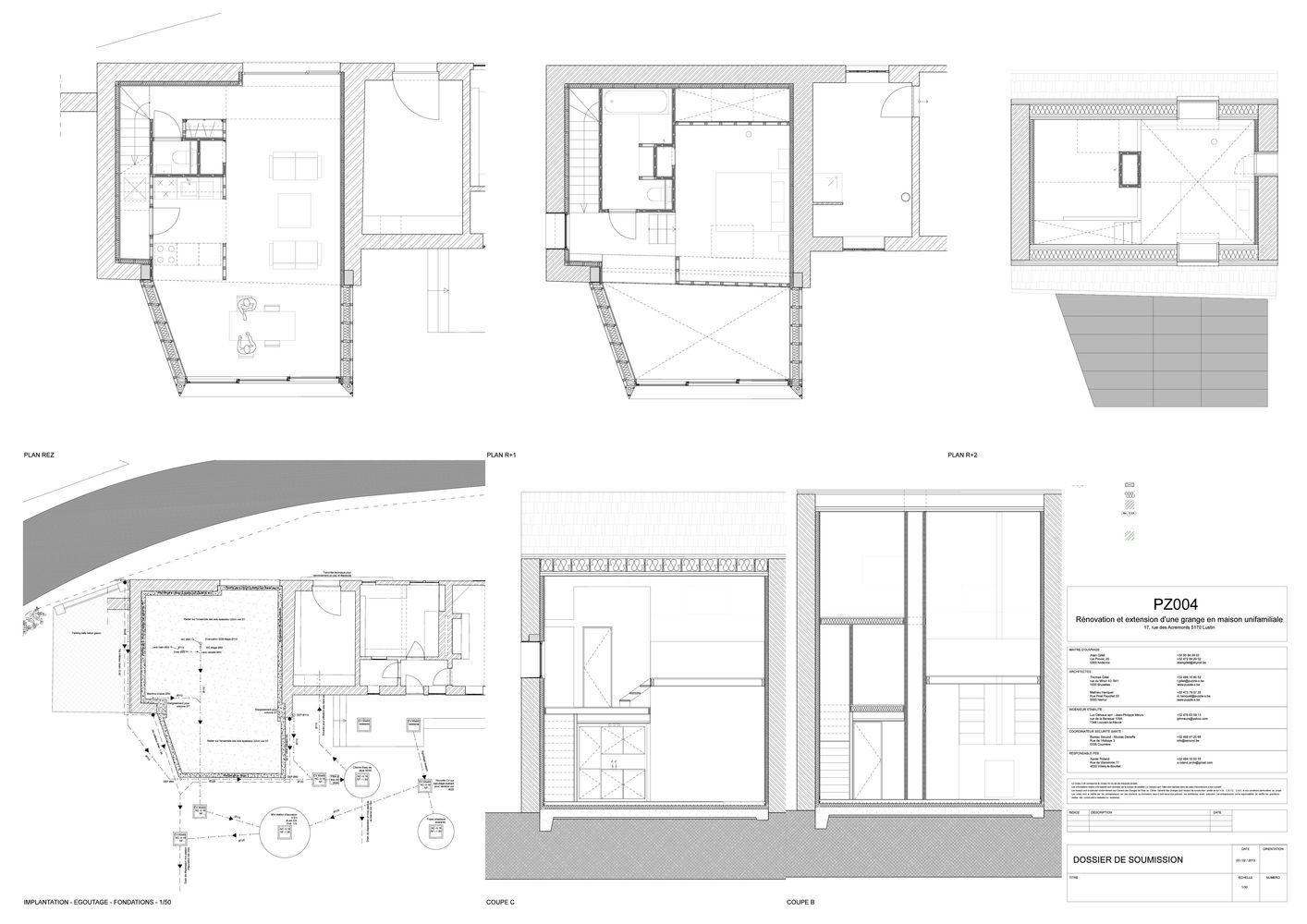 Gallery house extension in lustin puzzles architecture 18 architecture la maison de
