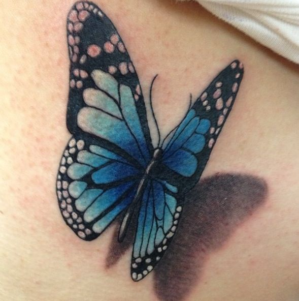 Pin By Jewels On Tattoos 3d Butterfly Tattoo Butterfly Tattoo Body Art Tattoos