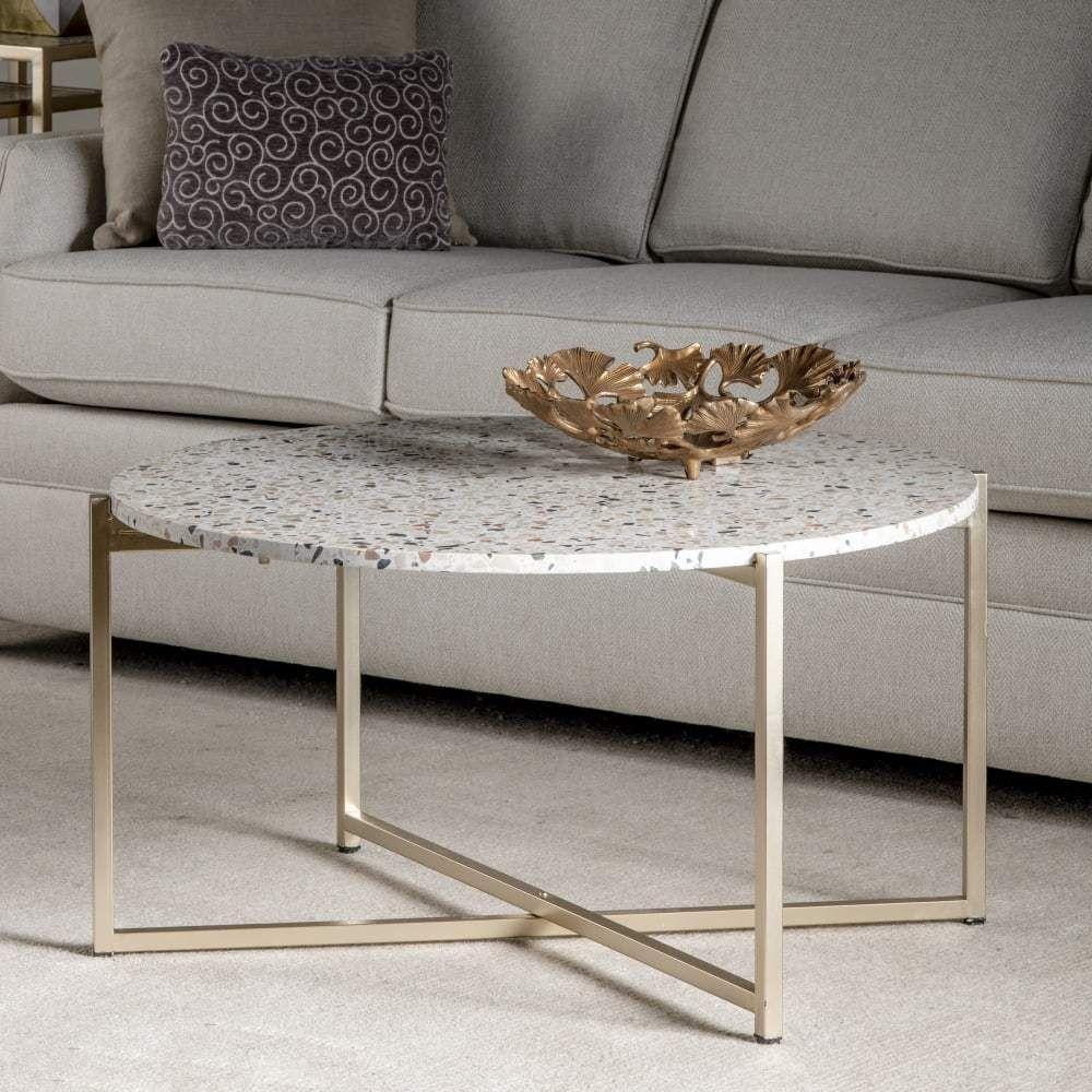 Kinley White Terrazzo Coffee Table In 2021 Coffee Table Glass Top Coffee Table Terrazzo Coffee Table [ 1000 x 1000 Pixel ]