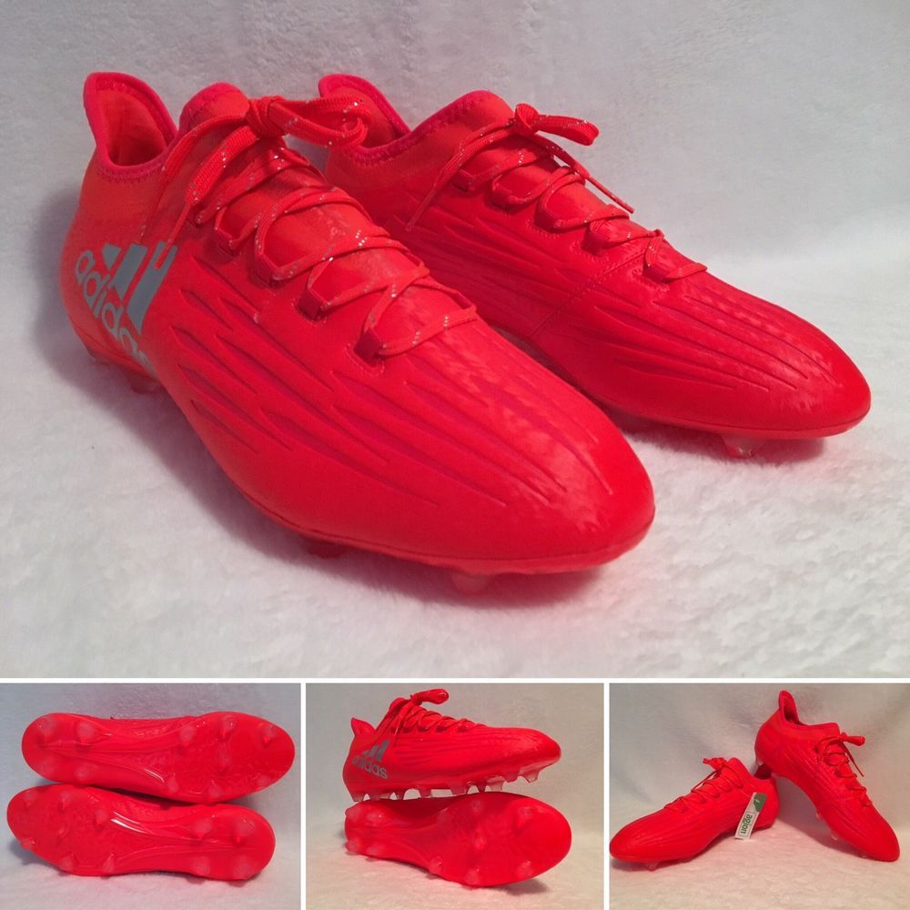 Soccer X Adidas Men's Cleats Size Solar 11 16 S79538 2 Fg Red 5 by6f7Ygv