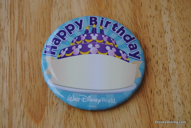 Disney Happy Birthday Button WDW Free Stuff Pinterest Disney