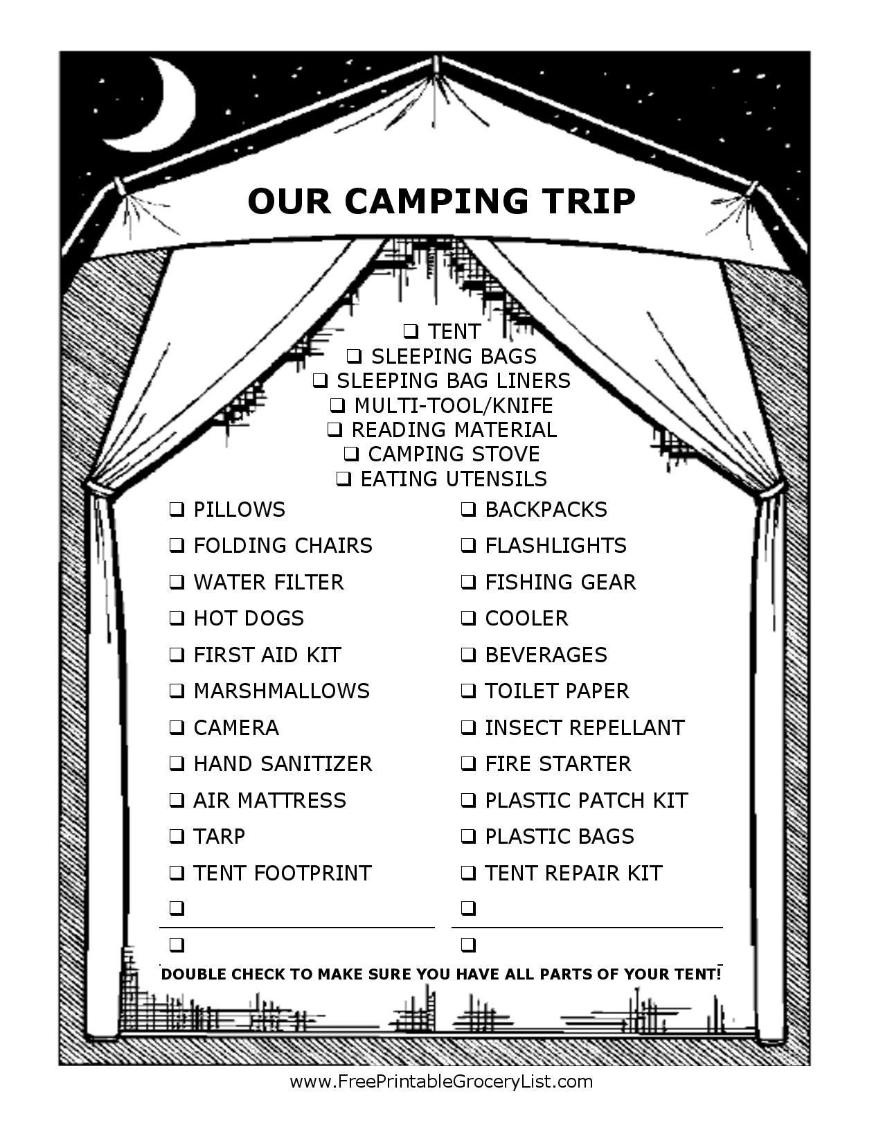 Camping Hacks For The Avid And The Average Camper