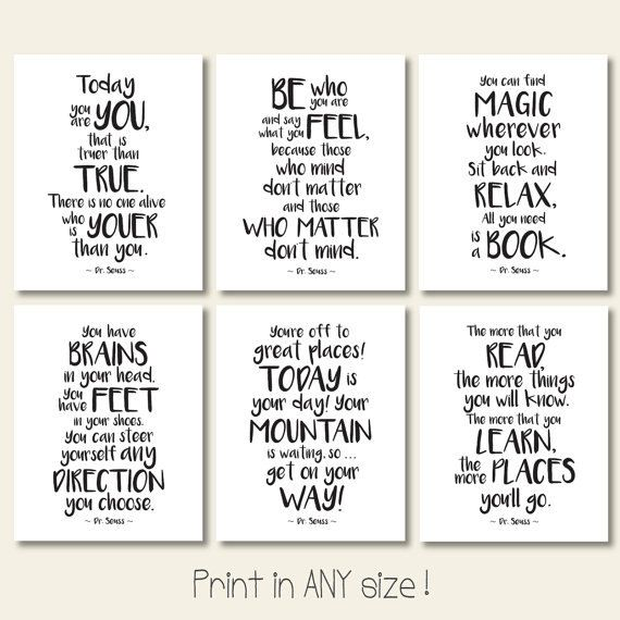 Black And White Playroom Printables