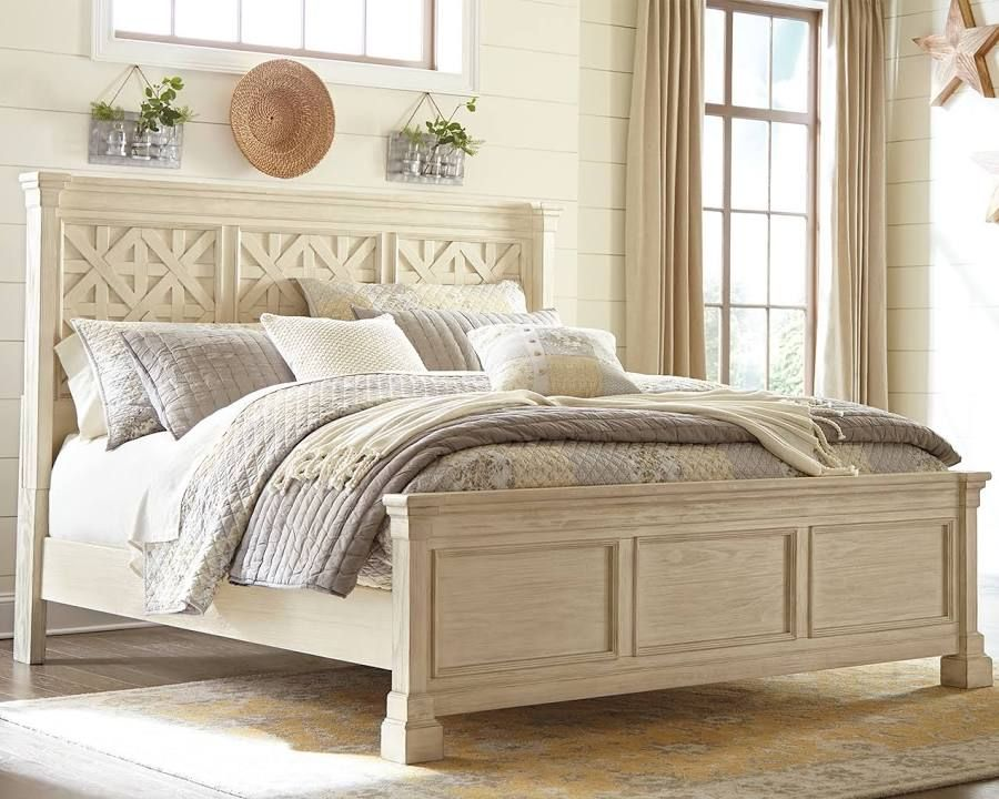 Best Beach House Beds Panel Bed White Paneling Bed Furniture 640 x 480