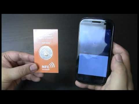 Nfc Business Card With Transparent Nfc Tag Cool Business Cards Business Cards Nfc