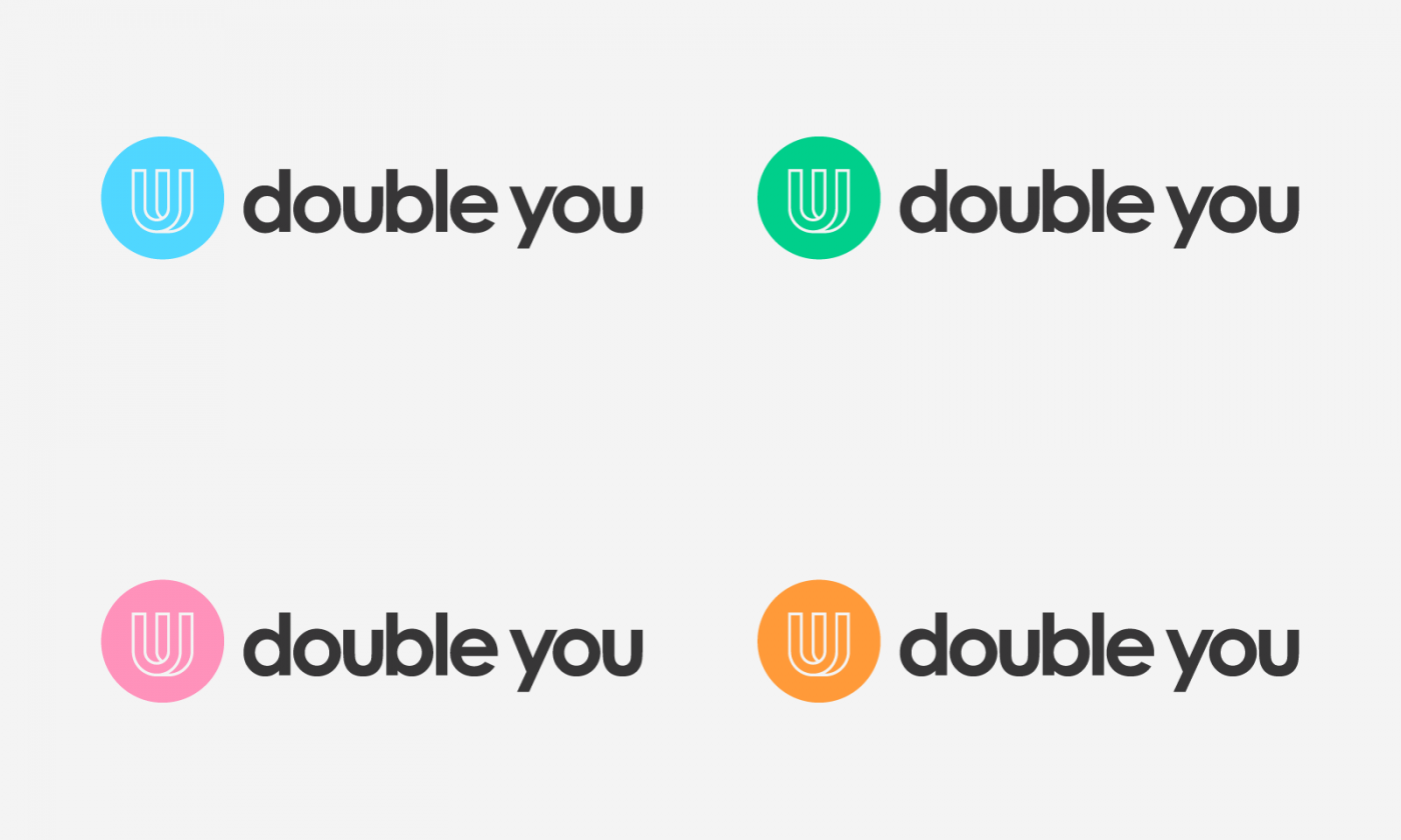 Double You Brand Identity - Blast Design