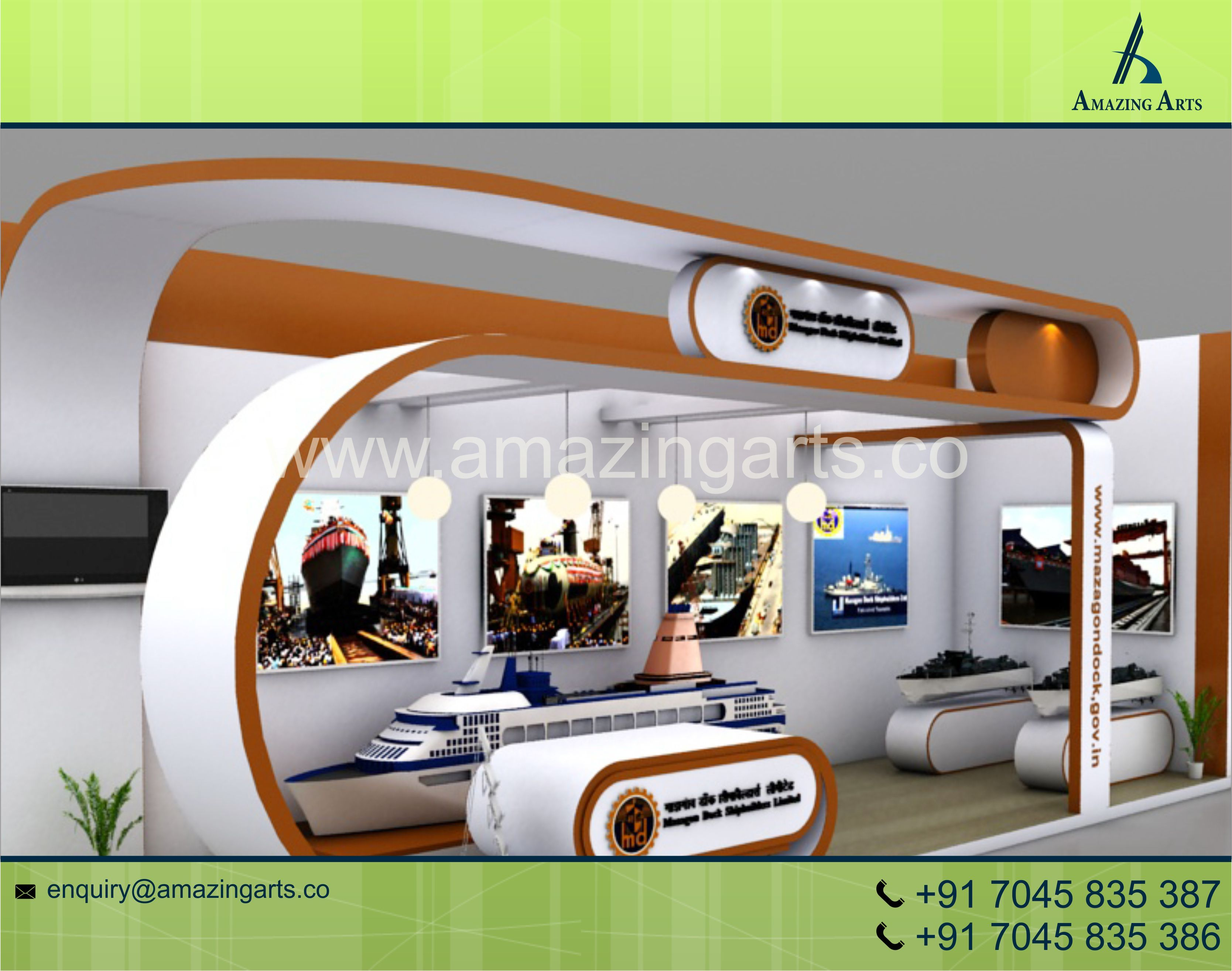 Exhibition Stall Booking In Pune : Exhibition stall designer india