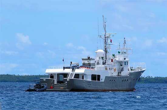 133 Conversion Yacht For Sale Senshu Maru Explorer Yachts