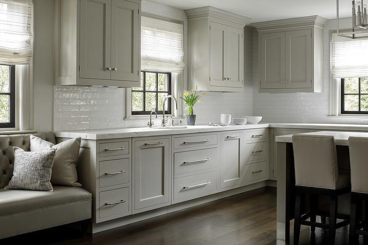 15++ Shaker gray kitchen cabinets diy