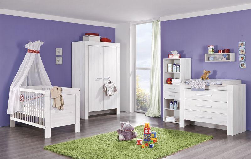PAIDI Babyzimmer Einrichtung ganz in Weiß! Langweilig
