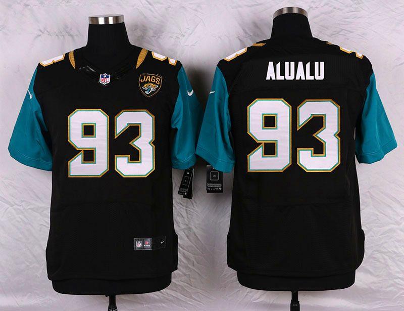 outlet store d4cb2 7165d mens jacksonville jaguars 93 tyson alualu black team color ...