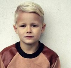 Popular Little Boys Hairstyle With Cool Undercut Haircuts