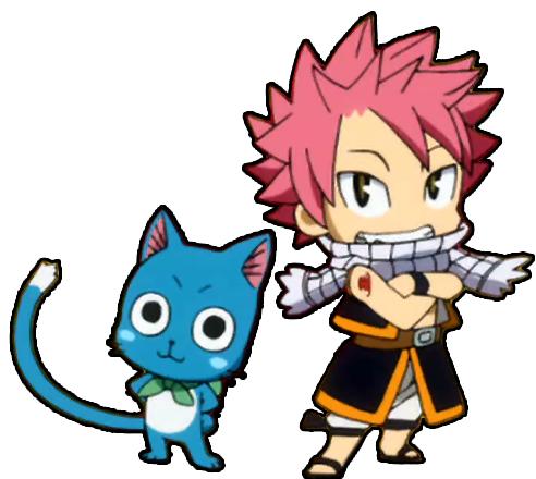 Natsu Happy Chibi | Fairytale | Pinterest | Chibi
