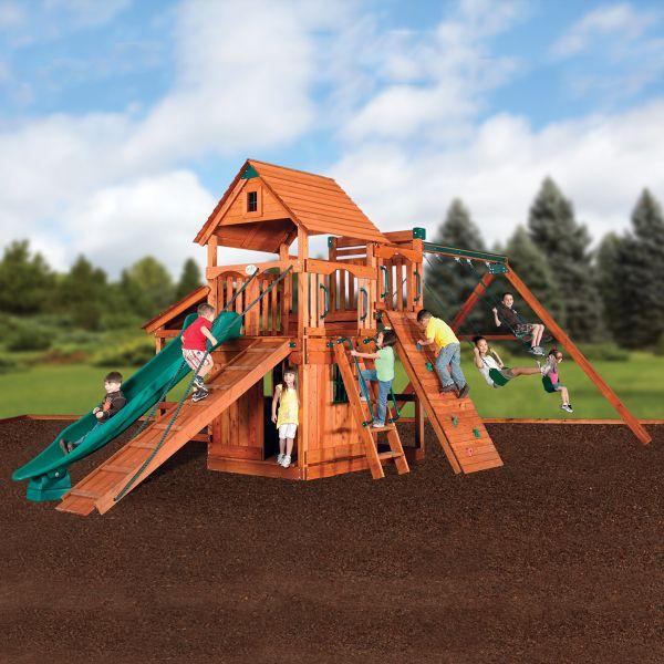 Magellan 5 Play Set | Backyard adventure, Playset outdoor ...
