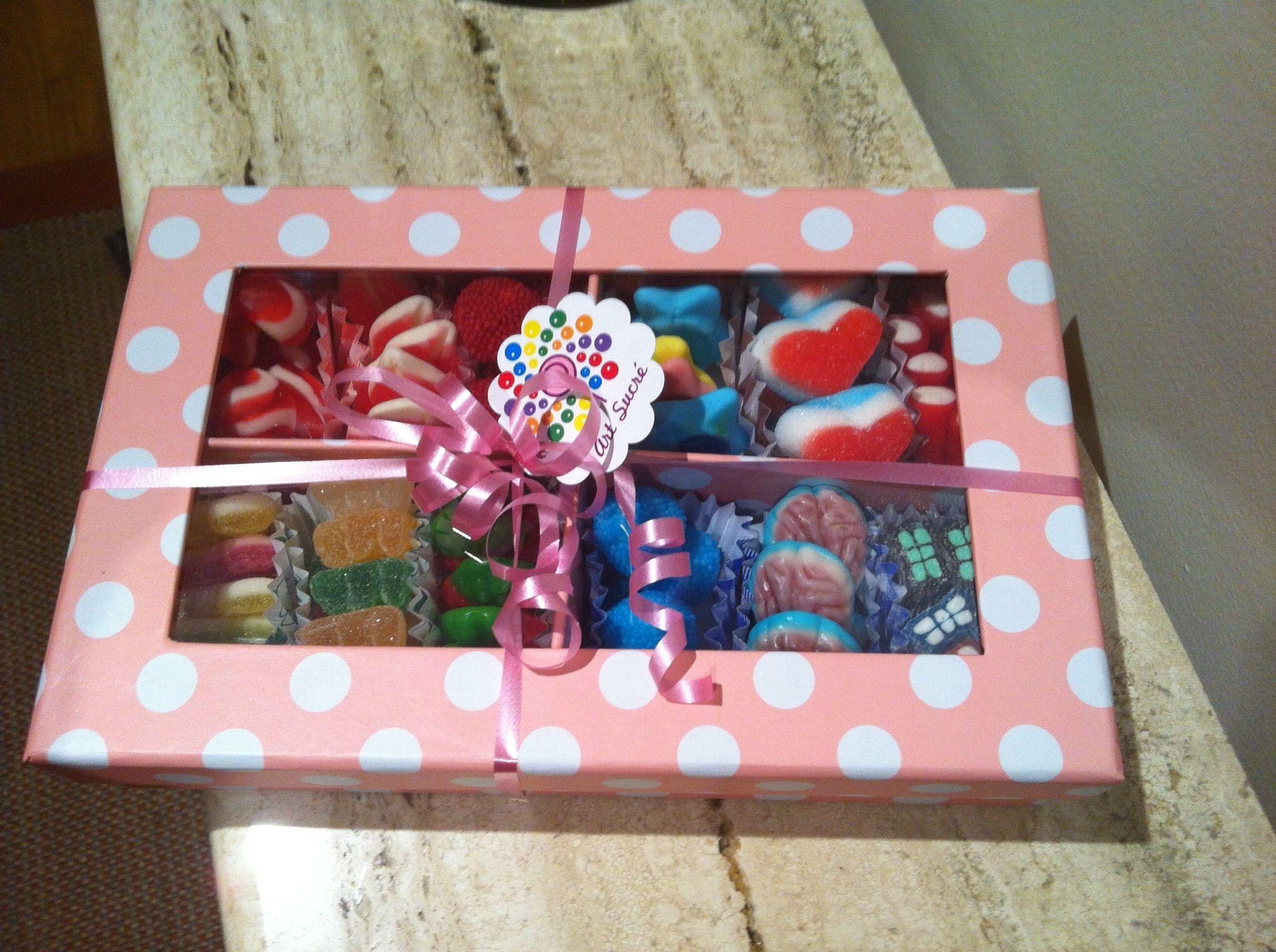 Caja Dulce Regalos De Caramelos Cajitas Para Dulces Regalos Creativos