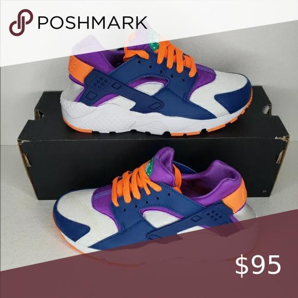 Nike Huarache Run Shoes Size 6.5Y or