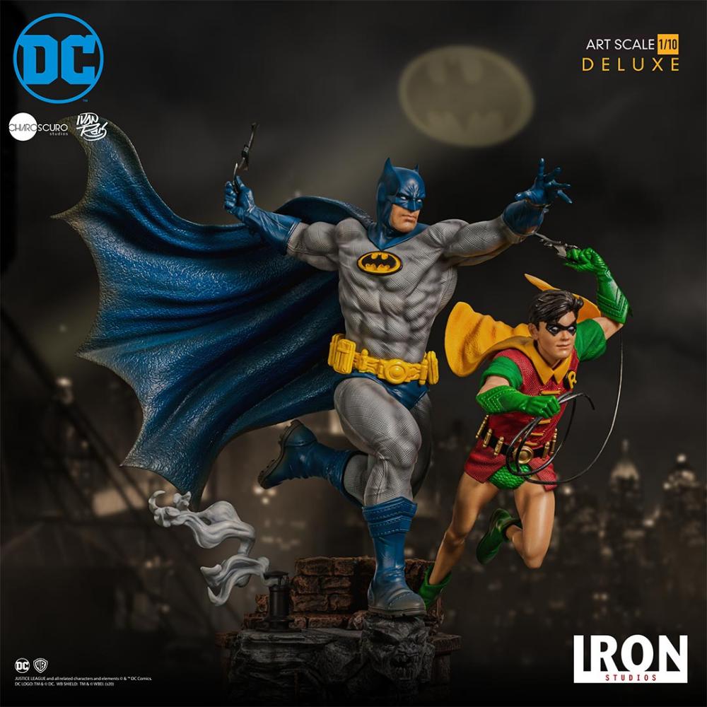 DC Comics Bombshells statue Batgirl /& Supergirl Celebration 38 cm