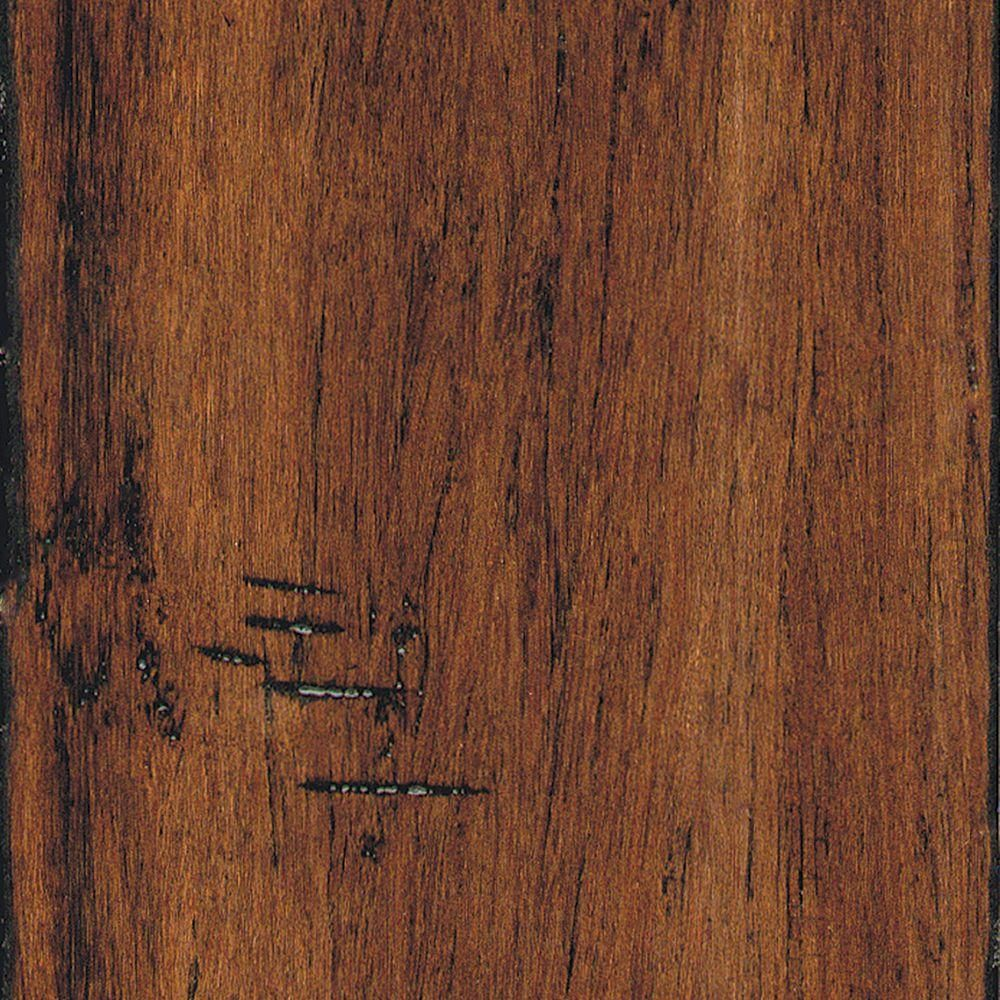 Home Legend Hand Scraped Strand Woven Spice 1 2 In T X 5 1 8 In W X 72 7 8 In L Solid Bamboo Flooring 25 93 Sq Ft Case Hl214 Flooring Luxury Vinyl Tile Flooring Engineered Hardwood Flooring